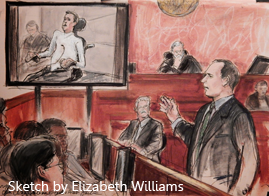 Osen LLC Honored with 2016 Public Justice Trial Lawyers of the Year - Sketch by Elizabeth Williams